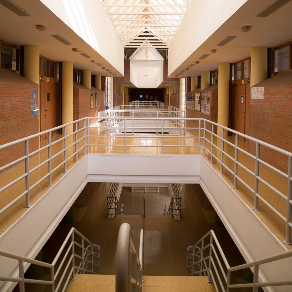 Imagen del interior del centro