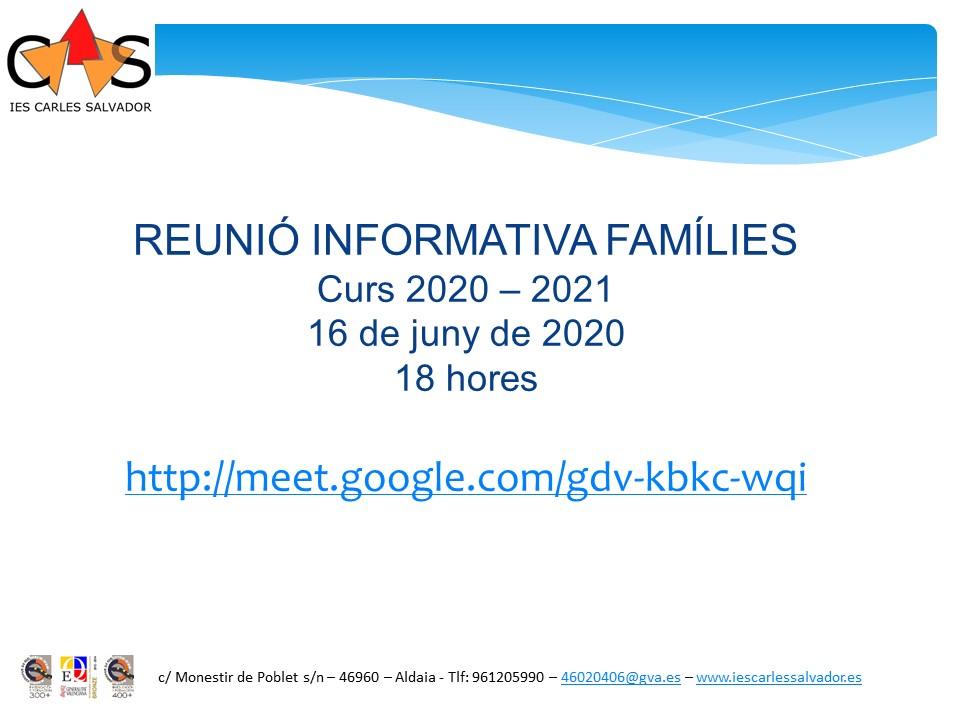 REUNIO INFORMATIVA_