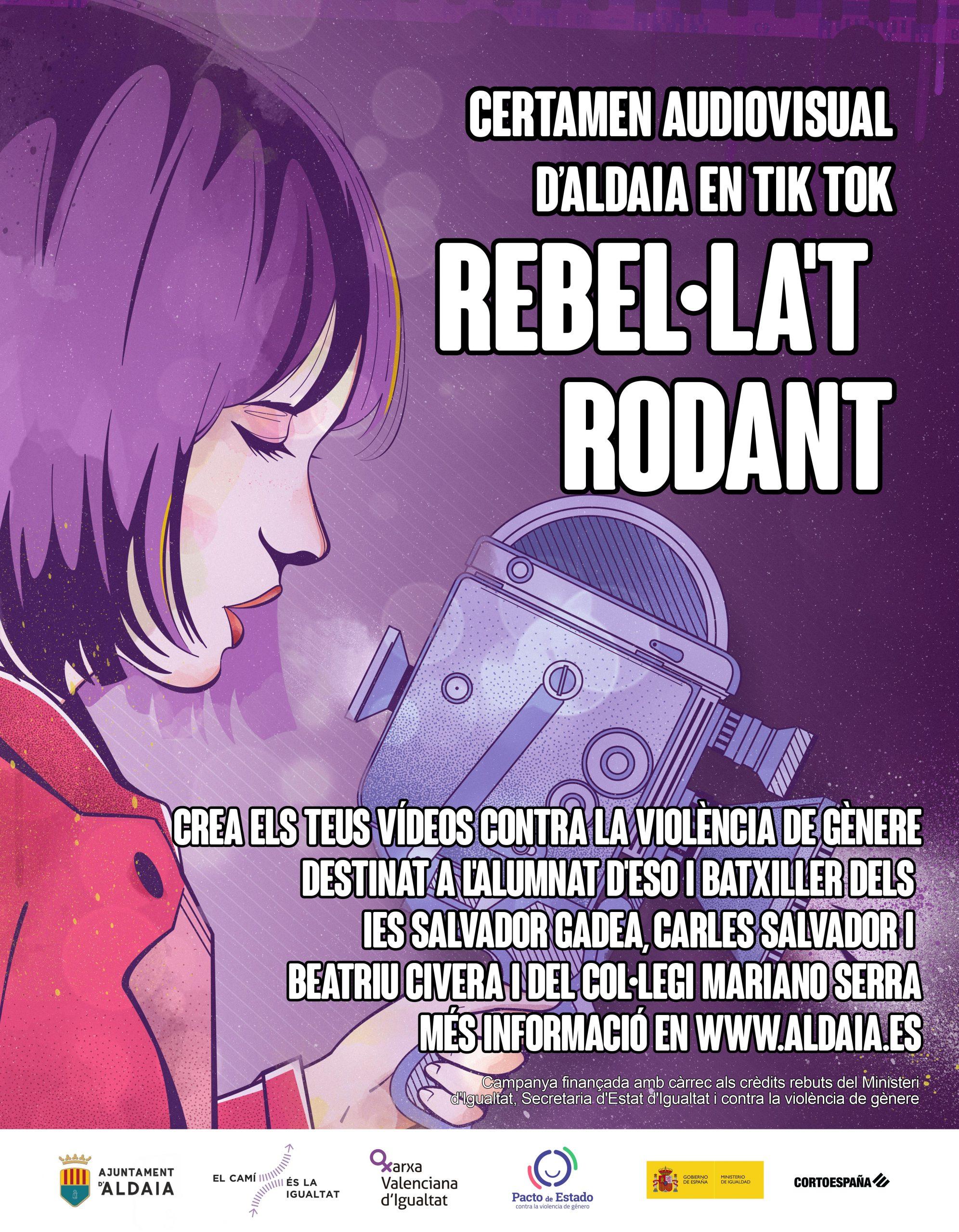 Cartel concurso rebellat rodant