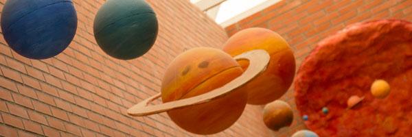 Imagne decoracion planetas centro
